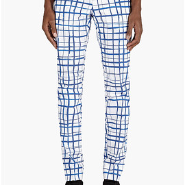 Carven - Check Print Trousers