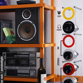 rocket - wine rack