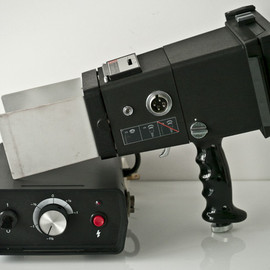 Polaroid - with Flash for medical treatment