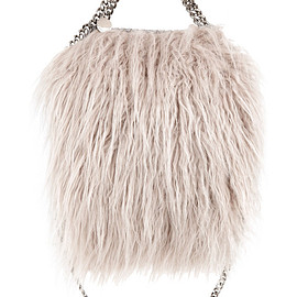 STELLA McCARTNEY - Falabella mini faux fur tote
