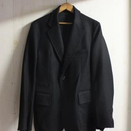 TAKAHIROMIYASHITA The SoloIst. - american british jacket. -black.-
