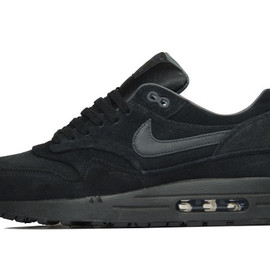 Nike - Air Max 1 Premium Black/Anthracite