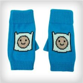 Adventure Time - Adventure Time Finn Turquoise Fingerless Gloves
