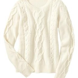 GAP - Cable knit pullover