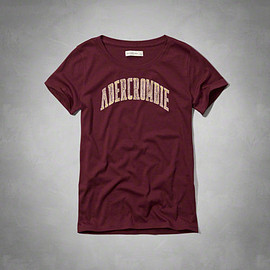 Abercrombie & Fitch - Classic Logo Graphic Tee