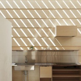 ma-Style Architects - Kitchen & Light Walls House, Aichi, Japan