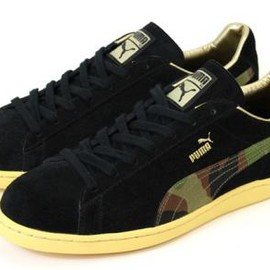 PUMA - KICKS LAB × PUMA FIRST ROUND LO KL CAMO