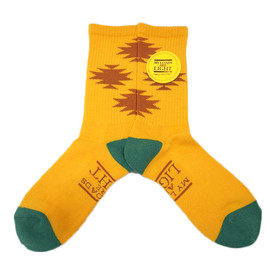 my loads are light - Native Socks / Yellow