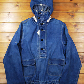 US NAVY - 1940s Denim Utility Parka