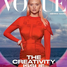 VOGUE Australia, Gemma Ward - March 2021 issue(Cover:Gemma Ward)