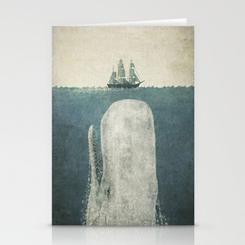 Terry Fan - White Whale Stationery Cards