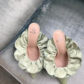 Brother Vellies - Stell Mule in Mint