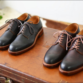 MOTO - CORDVAN OXFORD SHOES