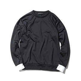 SOPHNET. - POLYESTER JERSEY CREW NECK CUT & SEWN