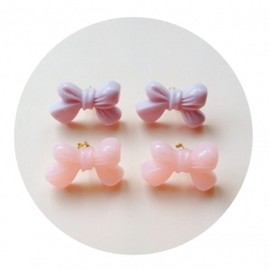 Love♡Letter - Ribbon Pierced Earring /Earring