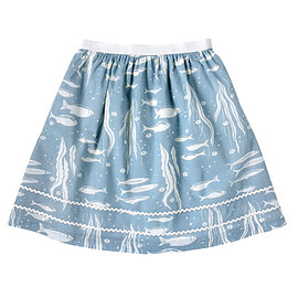 CathKidston - River Fish Mono Full Skirt