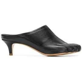 MM6 Maison Margiela - Nappa Leather Mule Black