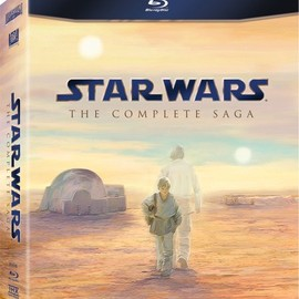 George Lucas - STAR WARS THE COMPLETE SAGA blue-ray BOX