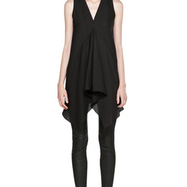 Rick Owens - Drape Tank in Black