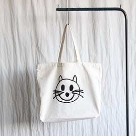 YAECA - Print Bag - cat #natural
