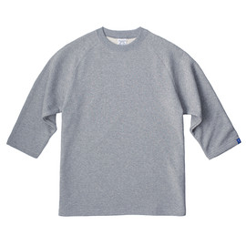 LOOPWHEELER - LW Light 3/4 sleeve pullover