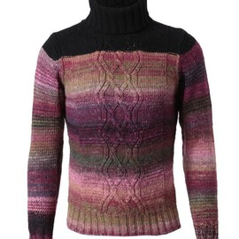 DRIES VAN NOTEN - 'Max' wool-mohair turtleneck jumper