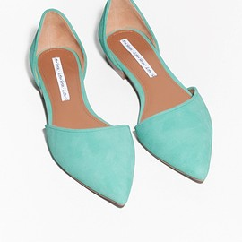 & Other Stories - Pointy Suede Flats