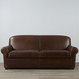 L.L.Bean - L.L.Bean Leather Lodge Sofa