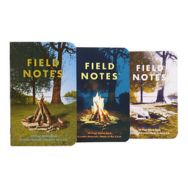 HIGHTIDE - FIELED NOTES 3-PACKS CAMP FIRE
