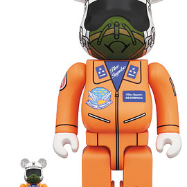 MEDICOM TOY - 1964 BLUE IMPULSE BE@RBRICK 100% & 400%