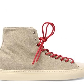 BUTTERO - CANVAS HIGH TOP SNEAKERS