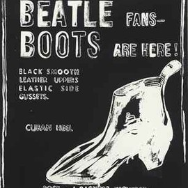 Andy Warhol - Beatle Boots (Negative)