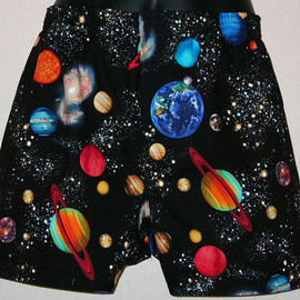 PLANETS cotton boxers