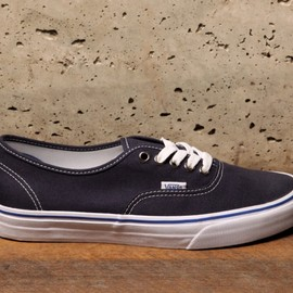VANS - vans Authentic - Dress Blue