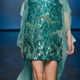 ALBERTA FERRETTI - Alberta Ferretti Spring Summer 2013 Ready To Wear Collection