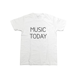 Noritake - MUSIC TODAY Tシャツ(white)