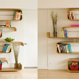 UM Project - Parenthetical Shelves
