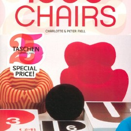 Taschen - 1000 Chairs (Taschen 25) (English, German and French Edition) [Deluxe Edition] [Paperback]