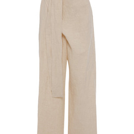 MARNI - SS2015 Double Washed Cotton Linen Wide Pants