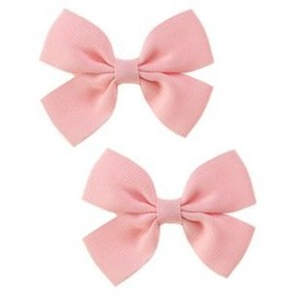 GYMBOREE - Light Pink Bow Clip Two-Pack