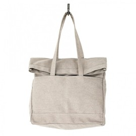 Makr - Heather Fold Weekender Tote Bag Ash