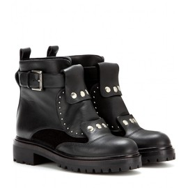Alexander McQueen - FW2014 Leather ankle boots