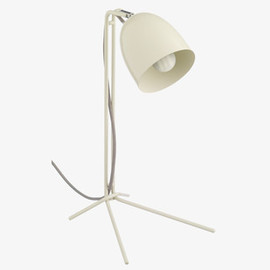 Grayson - Cream metal desk lamp