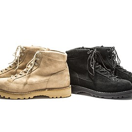 hobo × Danner - Cow Suede Leather Speed Race Boots by DANNER