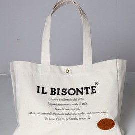 IL BISONTE - Canvas tote bag
