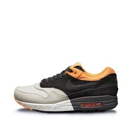 Nike - Air Max 1 Premium - Grey/Black/Orange