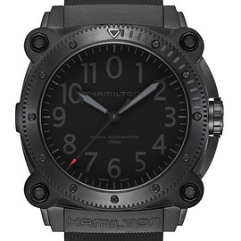 HAMILTON, TENET - KHAKI NAVY BeLOWZERO Auto Limited Edition - Red