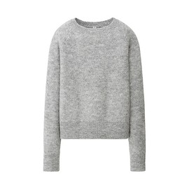 UNIQLO - W's mohair blend L/S sweater