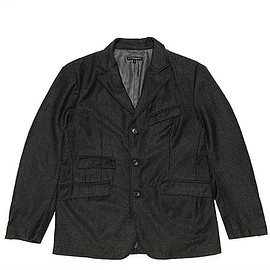 ENGINEERED GARMENTS - Andover Jacket-Worsted Heavy Wool-Dk.Grey