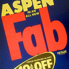 ANDY WARHOL - Aspen Magazin Fab Issue